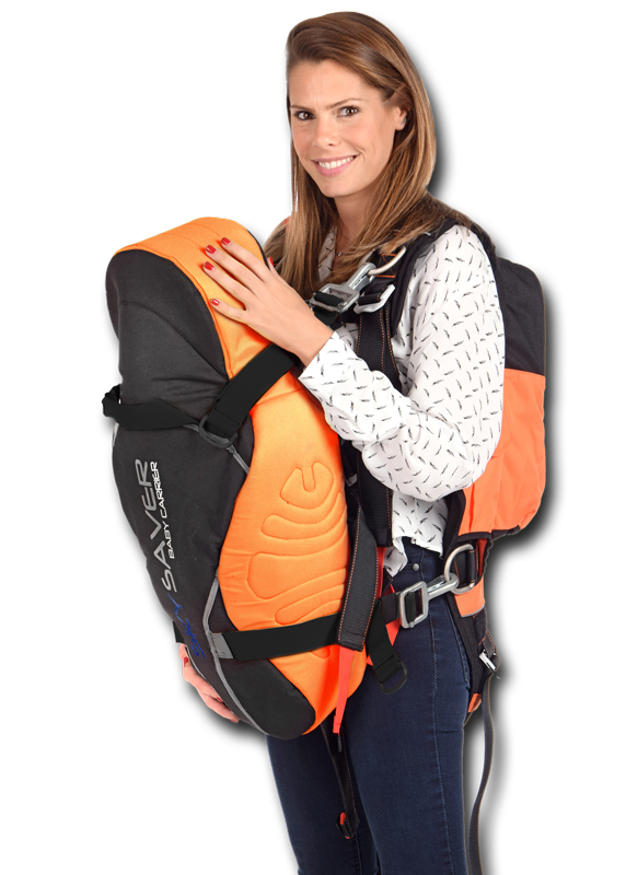 SkySaver Family 1+1: One Rescue Backpack Plus One Baby Harness